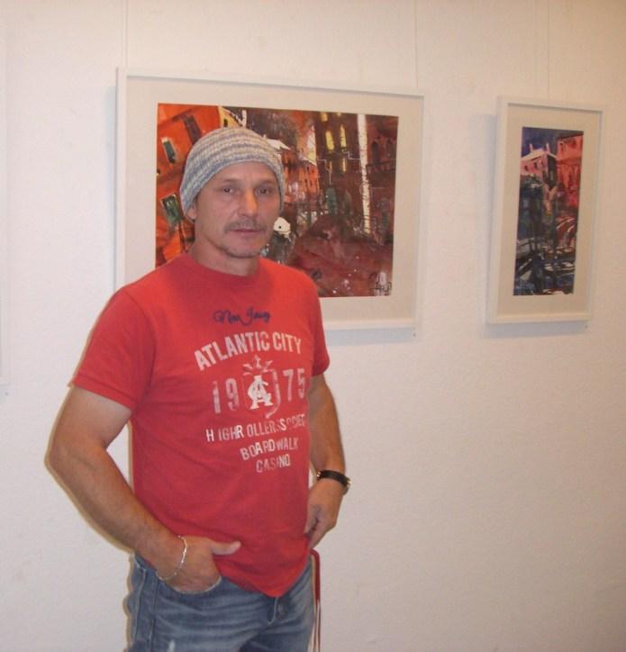 Andreas Mattern in der Galerie Pillango