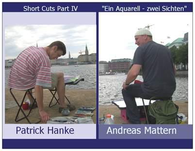 Patrick Hanke und Andreas Mattern