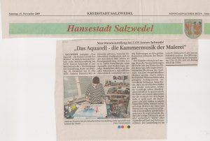 Artikel über Andreas Mattern in den Salzwedeler Sonntagsnachrichten