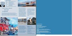 Folder von artistravel für Malreise Usedom - Dozent Andreas Mattern