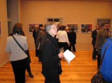 In der Ausstellung