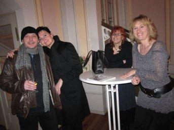 Ich mit Petra, Susanne und Frau Urban