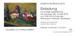 Andreas Mattern - Einladung Altenahr vorne