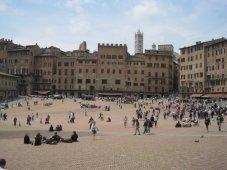 Noch regnet es in Siena nicht!