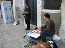 Renate und ich in Venedig 2006