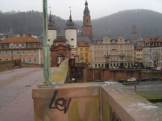 Ein untypischer Blick von der alten Brücke!