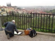 Ich in Prag