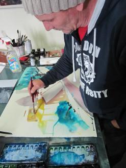 Ich male Volterra