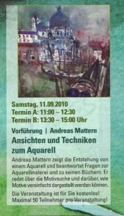 Beschreibung Vortrag Andreas Mattern bei Boesner