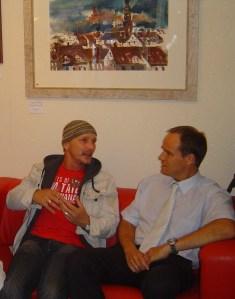 Ich und der damlige (2007)  Bürgermeister von Heidelberg