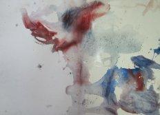 Venedig San Barnabas - Aquarell von Melvin Mattern - 56 x 76 cm