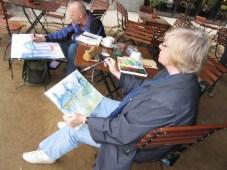 Andreas und Sigrid haben Plätze in vorderster Reihe :-)
