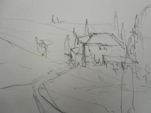 Zeichnung von Andreas Mattern
