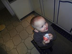 Melvin und das Ei :-)