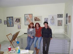 Frauen im Atelier