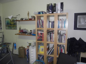 Atelier Bücherregal