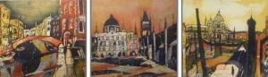 Zusammenschnitt Venedig und Prag