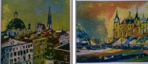 Zusammenschnitt Wien und Schwerin