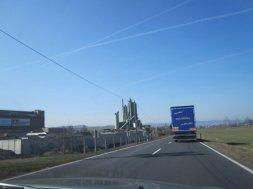 Im Auto auf dem Weg nach Saalfeld