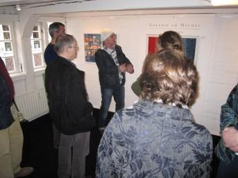 Ausstellung, Galerie am Michel