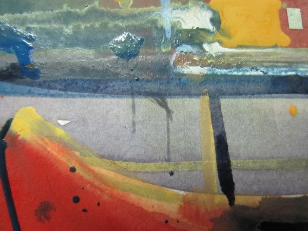 Feuerschiff Ausschnitt mit markierter Stelle im fertigen Bild