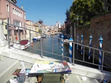 Andreas Mattern, Malen in Venedig