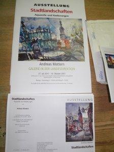 Einladung Dresden, Andreas Mattern