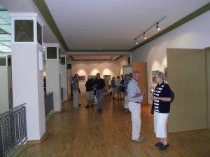 Ausstellungseröffnung Dresden, Aquarelle Andreas Mattern