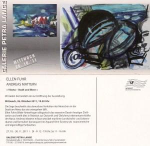 Einladung Petra Lange 2011