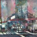 Berlin, Potsdamer Platz, Aquarell 56/76 cm, Andreas Mattern