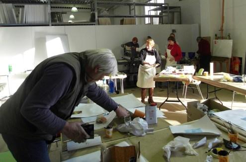 Workshop Radierung Boesner, Andreas Mattern