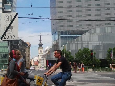 Wien, Schwedenplatz, Foto Andreas Mattern 2012