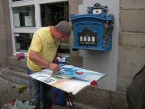Malen in Hattingen 2012, Andreas Mattern