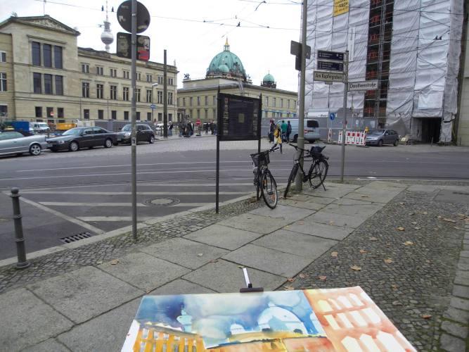Malen am Kupfergraben (c) Foto Andreas Mattern, 2012