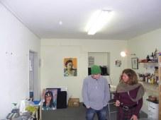 Ute im Atelier, (c) Foto Andreas Mattern, 2012