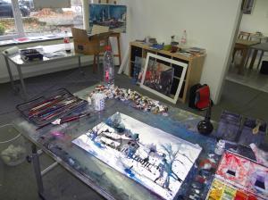 Atelier Andreas Mattern, Berlin, 2012