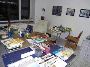 Aquarellkurs Atelier Andreas Mattern 2012