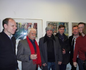 Ausstellungseröffung-Der Watercolor Club (Cross over)-Galerie Pillango-Berlin 1.03.2013