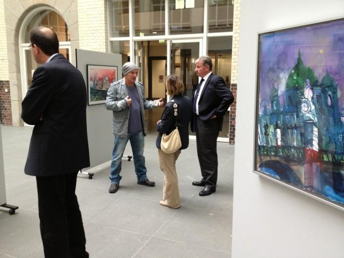 Ausstellung Bundesjustizministerium -2013,Mario Stiller und Andreas Mattern