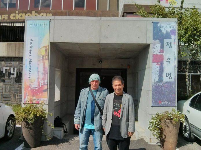 Ausstellung N Gallery Seoul-Andreas Mattern-2013