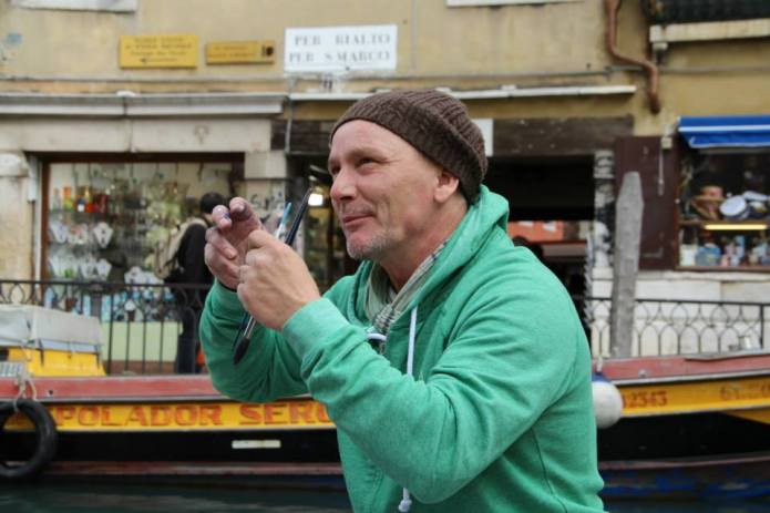 Andreas Mattern in Venedig -Nov. 2013