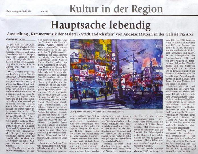 Presse Rosenheim 2014