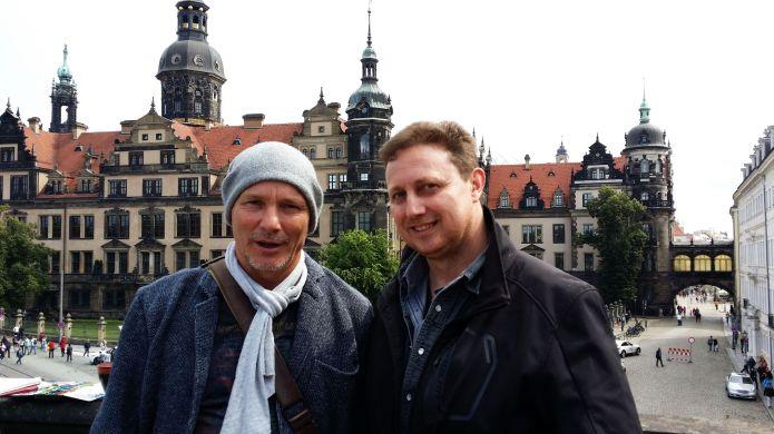 Heinz Schweizer und Andreas Mattern- 2014-Dresden