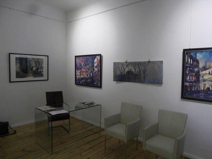 WCC Galerie Berlin, Vorbereitung der Ausstellung am 23.01.2015
