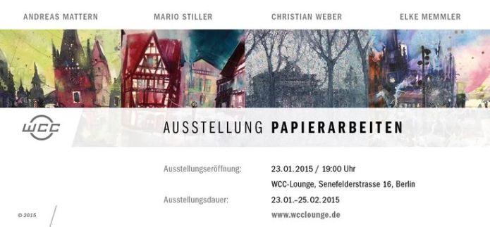 Ausstellung Berlin 23.01.2015